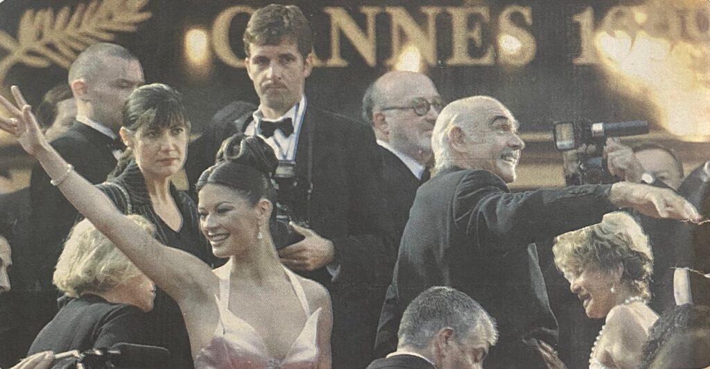 Cannes Film Festival 1999. Sean Connery, Catherine Zeta Jones