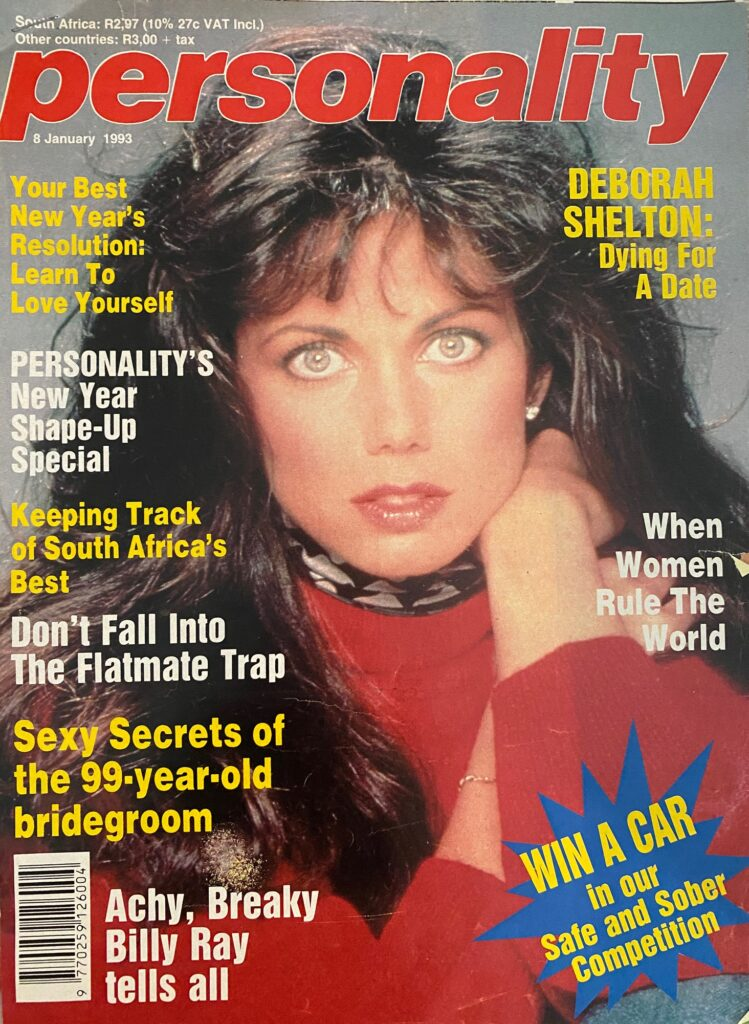 Deborah Shelton Front Page of Personality