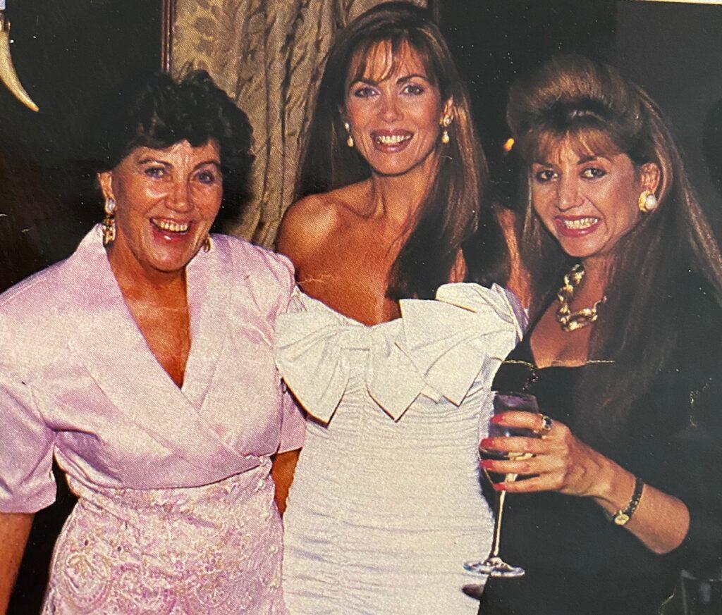 Deborah Shelton and mom and Lynne Widgerow