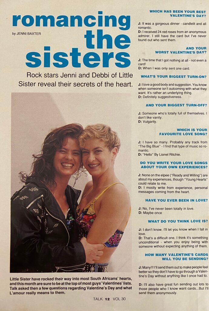 Little Sisters Interview TALK