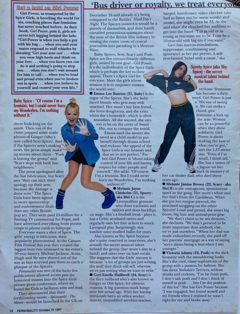 Spice Girls Blitz SA Page 2